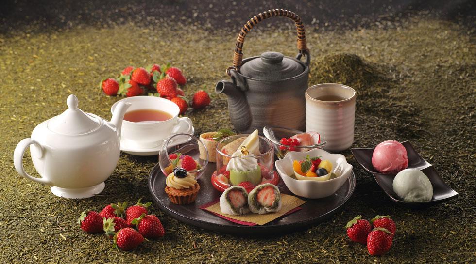 Strawberry Afternoon Tea ~お茶尽くしHAIKARA~