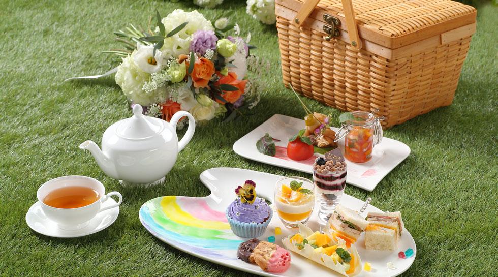【ご好評につき期間延長中!】Palette × Picnic Afternoon Tea ~HAIKARA~