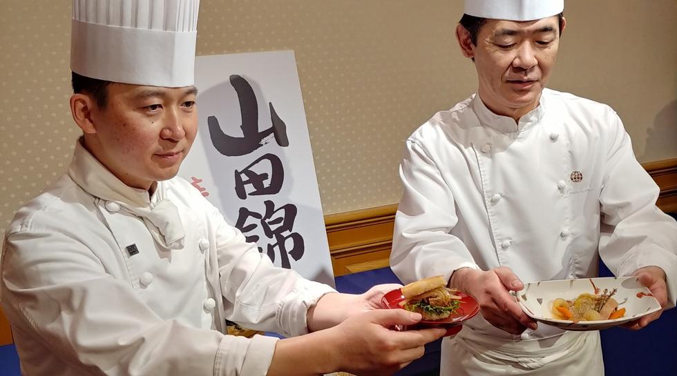 テレビでも紹介!酒米の王様「山田錦」を主食にすべくラスイートグループのシェフが新メニューを考案