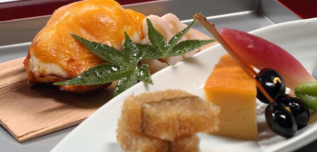 宴会の和食魚料理イメージ