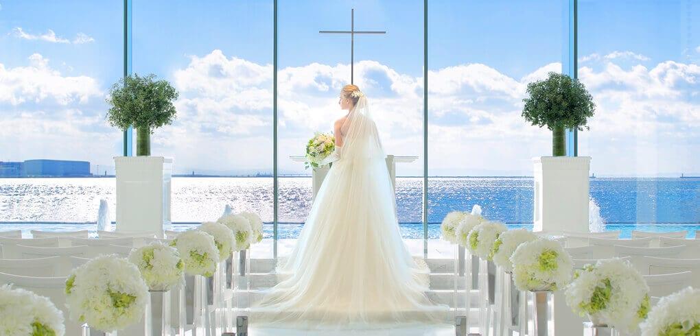 チャペルと花嫁
